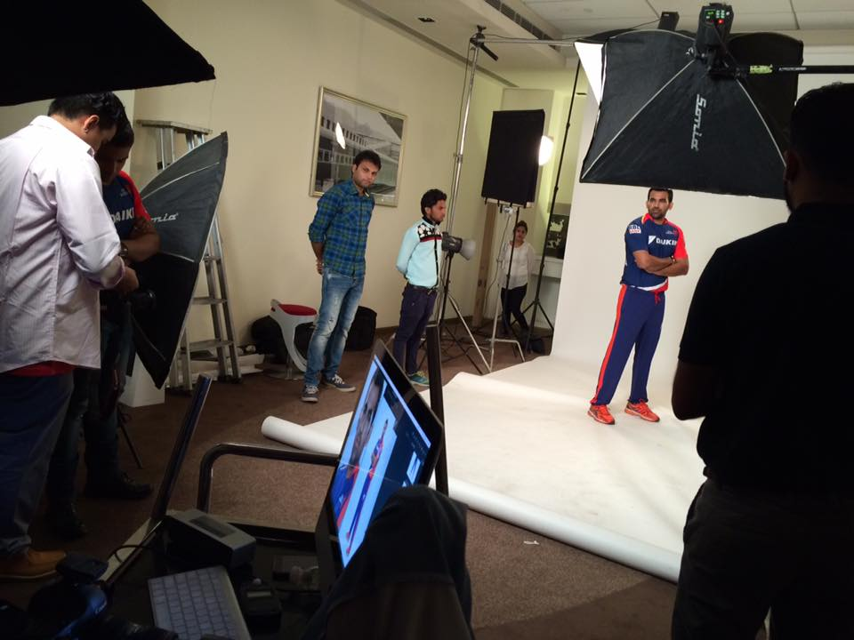 Photoshoot for Zaheer khan